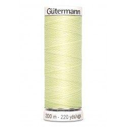 Bobine de fil vert tilleul 292 Gütermann 200m polyester pour tout coudre Gütermann - 1Bobine de filvert tilleul coloris 292 Bob