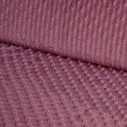 Tissu doudou minkee relief à pois X10cm - romance  - 1Tissu doudou minkee relief à pois -romance 100% polyester Laize d'1m50 Le