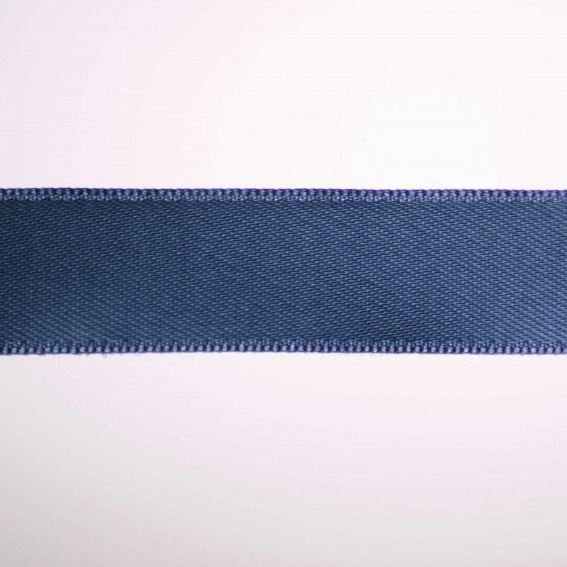 Ruban satin double face - Gris bleu  - 1Ruban satin double face -gris bleu Différentes largeurs : 6,5mm - 8mm - 15mm 100%polye
