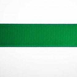 Ruban satin double face - Vert  - 1Ruban satin double face -vert Différentes largeurs : 6,5mm - 8mm - 15mm 100%polyester 1 uni