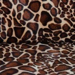 fausse fourrure girafe
