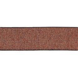 Elastique ceinture lamé 40mm - cuivre  - 1Elastiquepour ceinture lamé - cuivre 40mm de largeur 60% polyester - 29% latex - 11%
