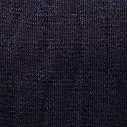 Tissu bord-côte X10cm - marine  - 1Tissu tubulaire bord-côte -marine 95% coton, 5%élasthanne Laize de 35 cm Certifié Oeko-Tex
