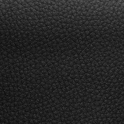 Simili cuir Dolaro X10cm - noir  - 1Simili cuir ameublement - noir 78% PVC, 20% Polyester, 2% Polyuréthane Laize d'1m40 Certifié